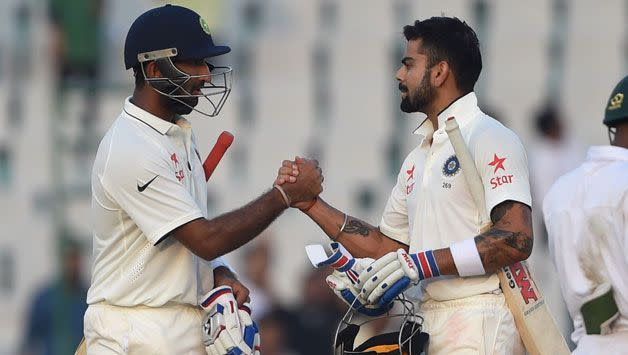 Pujara and Kohli have laid the perfect foundation for India's recent Test success