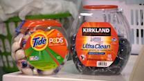 Packaging changes for laundry detergent pods
