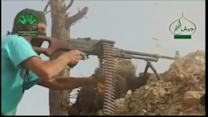 Rebels drive government forces from Syrian city