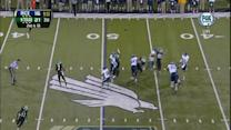 Double deflection interception by Marcus Trice