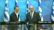 Tsipras in Israel