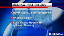 Publisher McGraw Hill selling education branch