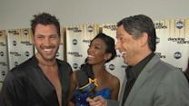 Brandy And Maks React To 'Dancing' Judge Carrie Ann Inaba's Criticism