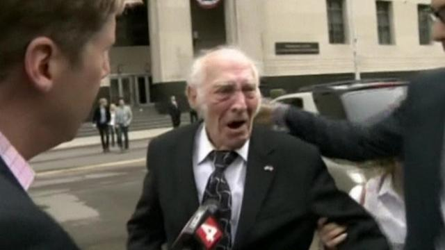 U.S. drug 'mule' gets 3-year prison sentence on his 90th birthday