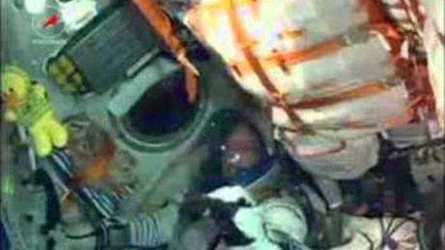 Trio of Astronauts Blast Off for Space Station
