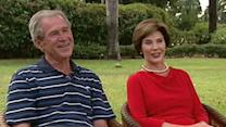 George W. Bush and Laura Bush on 'This Week'