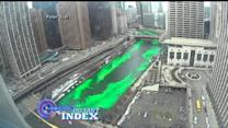 Instant Index: Chicago River Goes Green for Saint Patrick's Day