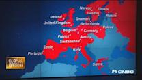 Euro zone grows 4x as fast as US