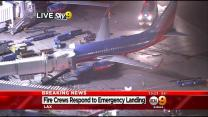 Passengers Evacuated From Southwest Airlines Flight At LAX