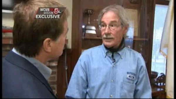 Man who found alleged bomber in boat speaks out