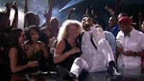 Miguel Kicks Fan in the Face at Billboard Music Awards