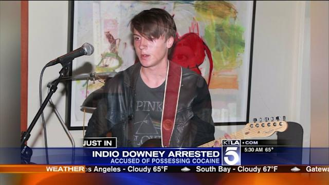 Robert Downey Jr.`s Son Arrested After Drugs Found in Car: L.A. Sheriff`s Dept.