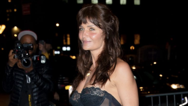 reputable site 3dfb8 68412 Writer says Helena Christensen 'too old' for bustier at 50