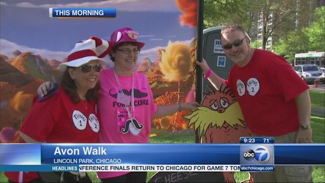 Avon Walk for Breast Cancer fundraises for research