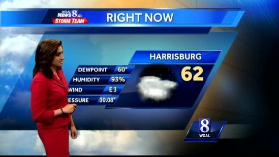 Temps to reach high 80s Wednesday