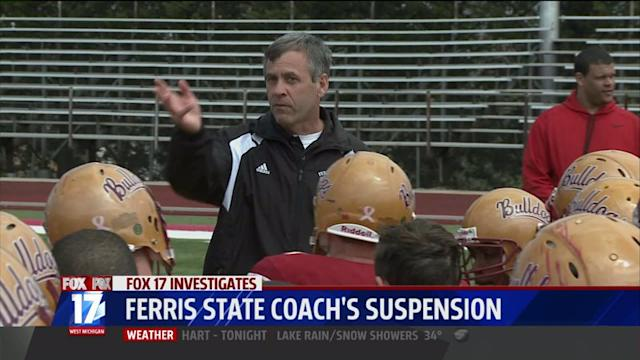 Coach Suspended for Locker Room Incident