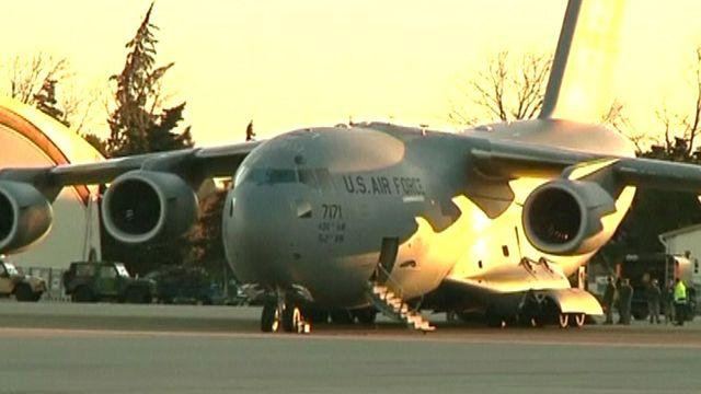 US planes land in Mali to assist French military operations