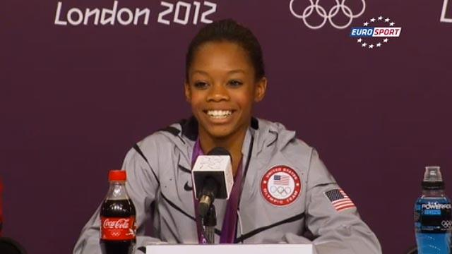 Olympic champion Gabby Douglas on cloud nine