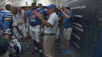 Duke's Coach Cutcliffe Postgame Speech vs Elon