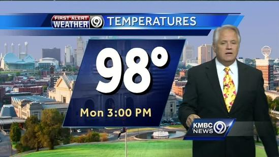 Extreme heat, wind increases Monday's fire risk