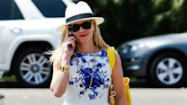 Reese Witherspoon Has the Perfect Dress For Beating the Heat!