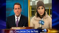 Relatives questioned after kids home alone died in fire
