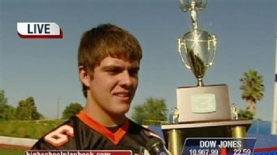 Roseville QB Takes Home Combine Trophy