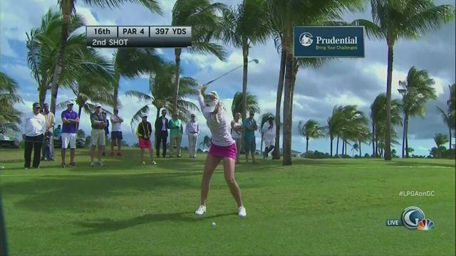 Korda leads after second round of Bahamas LPGA Classic
