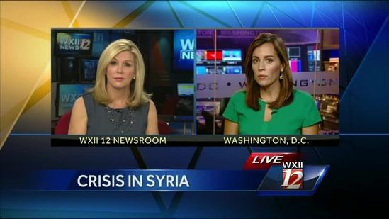 Tensions Rise Over Threat of Attack in Syria