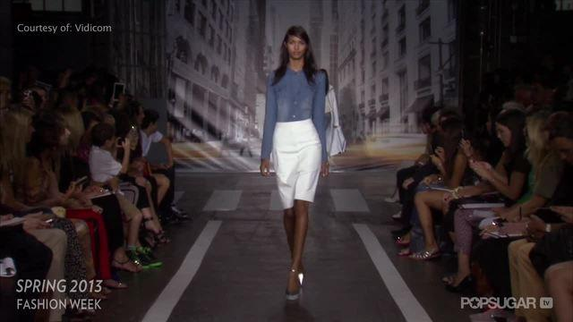 Play Ball! See DKNY's Sporty Spring '13 Separates in Motion