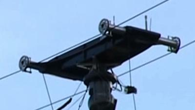 Falling Cable Hurts 10 NASCAR Fans