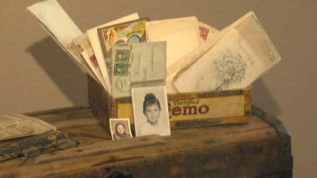 Century-old letters found
