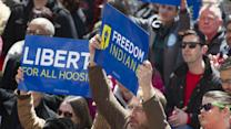 Indiana Officials Try to Quell Religion Law Protests
