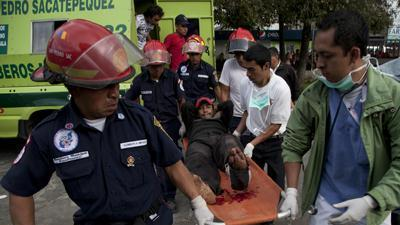 Guatemala quake death toll expected to rise