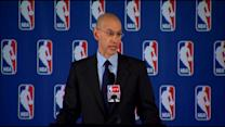 News Conference: NBA Commissioner Adam Silver Suspends, Fines Clippers Owner Donald Sterling Over Racist Remarks