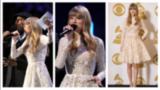 Taylor Swift Wears Winter White - and Snags 3 Grammy Nods!