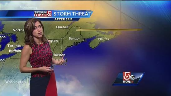 Cindy Fitzgibbon's latest Boston area weather forecast