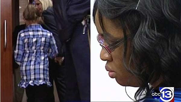 Young girl testifies babies were left alone
