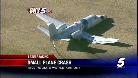 2 people on board plane that makes rough landing