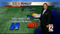 Austin's look at Monday's forecast