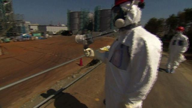 Central de Fukushima abre as portas