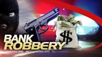 Bank robbery suspects in custody