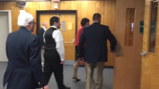 Seth Mazzaglia walks into court for first day of jury selection