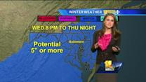 Ava updates the snowfall forecast