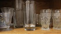 Every Glass In Grandmother's Cupboard Visibly Filthy