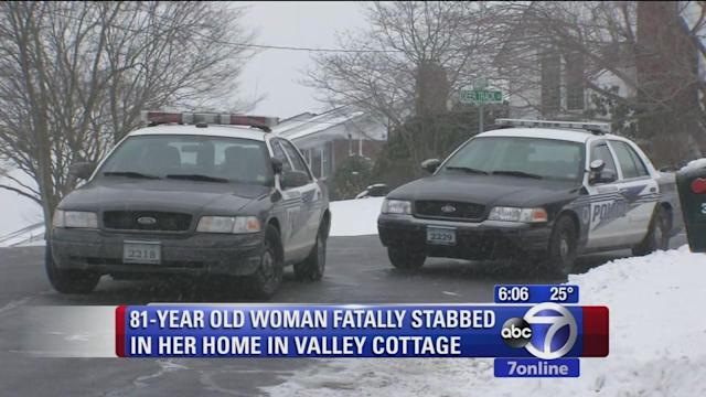 Elderly woman found fatally stabbed in home