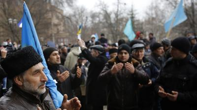 Protests, Clashes and Fistfights in Ukraine