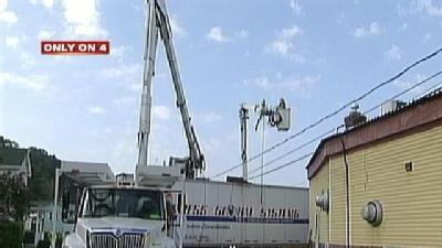 Police: Drunken Truck Driver Takes Down Pole, Power Lines