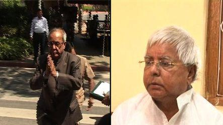 Lalu appeals for unanimous support for Pranab