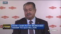 DOW CEO: Low oil stimulus working